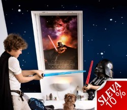 VELUX Zatemňující roleta DKL Disney (Star Wars) & VELUX Kolekce snů (VELUX Galactic Night Collection) Standard